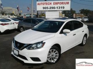 Used 2017 Nissan Sentra SV Prl White Camera/Sunroof/Btooth &GPS* for sale in Mississauga, ON