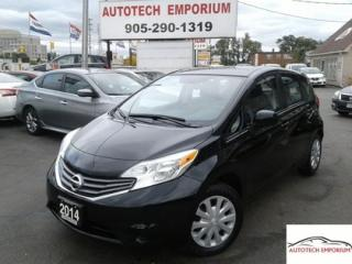 Used 2014 Nissan Versa Note SV Auto Camera/Bluetooth &GPS*$39/wkly for sale in Mississauga, ON