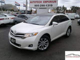 Used 2014 Toyota Venza AWD Prl White PanoRoof/Lther/Cam &GPS* for sale in Mississauga, ON
