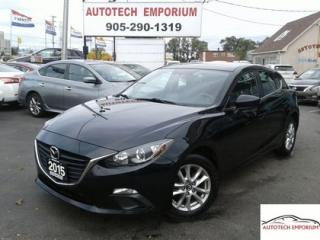 Used 2015 Mazda MAZDA3 Sport GS Auto Navigation/Alloys/Camera/Btooth for sale in Mississauga, ON
