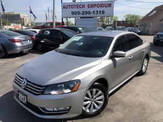 Used 2013 Volkswagen Passat TDI Alloys/Camera/Btooth/Htd Seats&GPS* for sale in Mississauga, ON