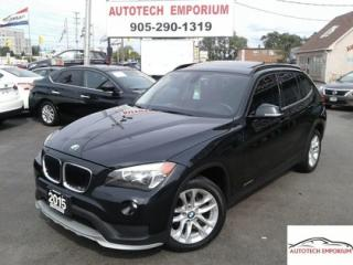 Used 2015 BMW X1 xDrive Leather/Panoroof/Sensors &GPS* for sale in Mississauga, ON