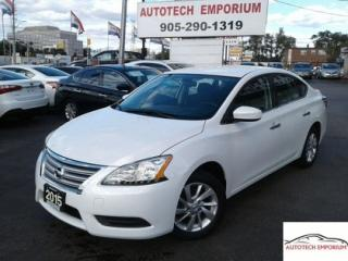 Used 2015 Nissan Sentra SV for sale in Mississauga, ON
