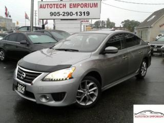Used 2014 Nissan Sentra SR Navigation/Camera/Sunroof/Alloys for sale in Mississauga, ON