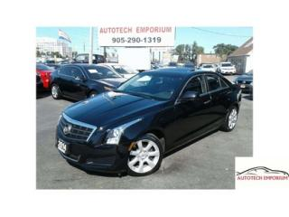 Used 2014 Cadillac ATS Turbo AWD Leather/Sunroof/Camera &GPS* for sale in Mississauga, ON