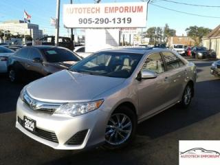 Used 2014 Toyota Camry LE Auto Sunroof/Camera/Alloys/Btooth&GPS* for sale in Mississauga, ON