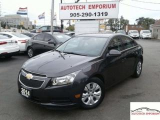 Used 2014 Chevrolet Cruze 1LT Auto Camera/Bluetooth/Keyless &ABS for sale in Mississauga, ON