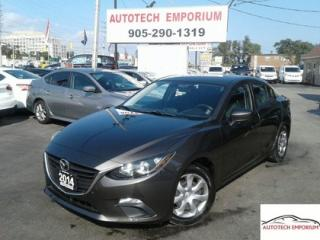 Used 2014 Mazda MAZDA3 GX-SKY Auto Bluetooth/Keyless/AC &ABS* for sale in Mississauga, ON