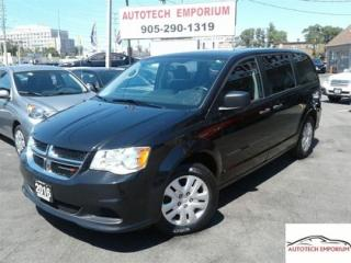 Used 2016 Dodge Grand Caravan Auto 7 Passenger Bluetooth/DVD Entertainment &GPS* for sale in Mississauga, ON