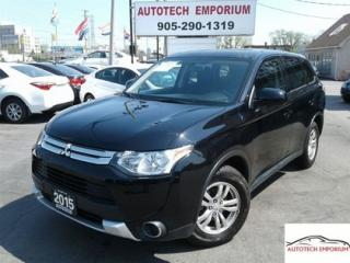 Used 2015 Mitsubishi Outlander ES AWD Btooth/htdSts/Alloys&GPS* for sale in Mississauga, ON