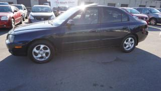 Used 2005 Hyundai Elantra GLS Sedan Manual 5Speed Sunroof Alloys Certified 2Yr Warranty for sale in Milton, ON