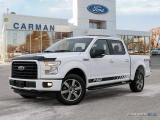 Used 2017 Ford F-150 FX4 SPORT NAV for sale in Carman, MB
