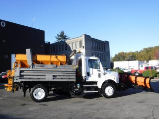 Used 2005 Freightliner M2 106 Plow Truck Diesel Dump truck with sand spreader Air Brakes for sale in Burnaby, BC
