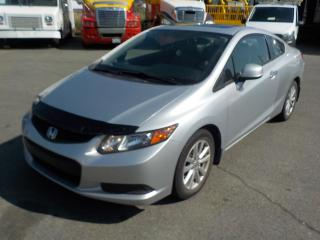 Used 2012 Honda Civic LX Coupe 5-Speed Manual for sale in Burnaby, BC