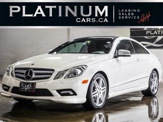 Used 2011 Mercedes-Benz E350 , AMG, NAVI, CAM, RED Leather for sale in Toronto, ON
