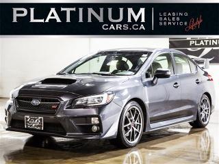Used 2016 Subaru WRX STI Limited, 6 SPEED, SPORT-TECH, NAVI, CAM for sale in Toronto, ON