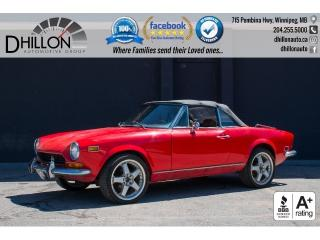 Used 1977 Fiat 124 Sport Spider (Pininfarina Spider) 124 Sport Spider for sale in Winnipeg, MB