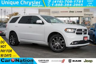 Used 2018 Dodge Durango GT| NAV| DVD| SUNROOF| LEATHER| PWR TAILGATE for sale in Burlington, ON