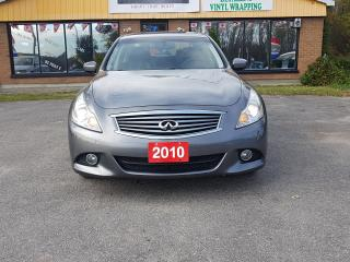 Used 2010 Infiniti G37 X Luxury for sale in Barrie, ON