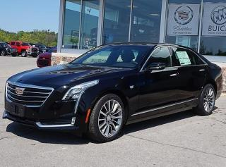 New 2018 Cadillac CT6 3.0L Twin Turbo Luxury JACK MCGEE FALL SPECIAL $500 Pre-Paid Visa Gift Card with the Purchase of any Cadillac for sale in Peterborough, ON