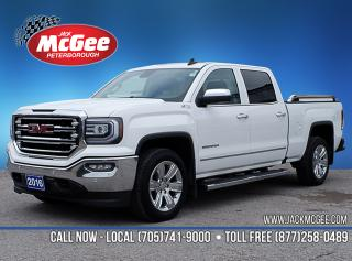 Used 2016 GMC Sierra 1500 SLT Starting as low as $269 Bi-Weekly at 5.99% OAC over 84 months with $1,000 plus HST and Licensing for sale in Peterborough, ON