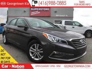 Used 2015 Hyundai Sonata GL | BACK UP CAM | AUX / USB | HEATED SEATS for sale in Georgetown, ON