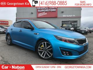 Used 2014 Kia Optima SX TURBO | NAVI | WRAPPED| INTAKE | EXHAUST | PANO for sale in Georgetown, ON