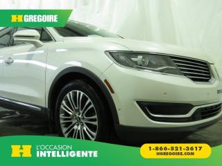 Used 2016 Lincoln MKX Reserve for sale in St-Léonard, QC
