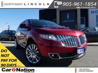 Used 2011 Lincoln MKX HTD/COOLED LEATHER | PANO ROOF |AWD | for sale in Brantford, ON
