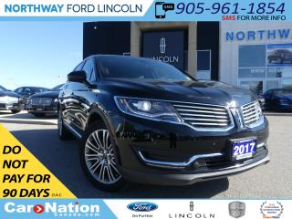 Used 2017 Lincoln MKX | NAV | PANO ROOF | 360 REAR CAM | REMOTE START | for sale in Brantford, ON