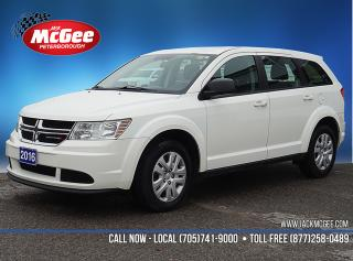 Used 2016 Dodge Journey CVP/SE Plus for sale in Peterborough, ON