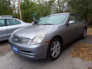 Used 2004 Infiniti G35X Luxury for sale in Oshawa, ON