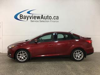 Used 2015 Ford Focus - ALLOYS! KEYLESS ENTRY! FLEX FUEL! HTD SEATS! A/C! REV CAM! HTD WHEEL! CRUISE! for sale in Belleville, ON