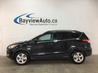 Used 2015 Ford Escape - ALLOYS! KEYLESS ENTRY! ECO BOOST! SUNROOF! HTD LTHR! REV CAM! for sale in Belleville, ON