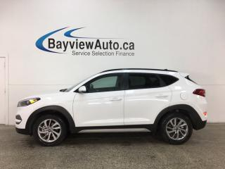 Used 2018 Hyundai Tucson Premium 2.0L - ALLOYS! ROOF RACK! PANO ROOF! HTD LTHR! RCTA! REV CAM! ADROID AUTO! DBC! HTD WHEEL! for sale in Belleville, ON