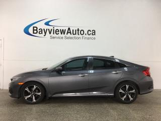 Used 2017 Honda Civic Touring - ALLOYS! REM STRT! PANO ROOF! HTD LTHR! NAV! REV CAM! FCW! BLUETOOTH! CRUISE! for sale in Belleville, ON