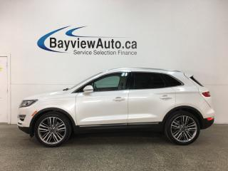 Used 2015 Lincoln MKC - ALLOYS!  REM STRT! TRAILER HITCH! PANO ROOF! HTD LTHR! HTD WHEEL! VNTLD STS! BSA!  CTA! for sale in Belleville, ON