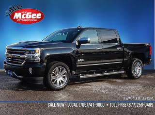 Used 2016 Chevrolet Silverado 1500 High Country 4x4 - 5.3L, Full Feat Bkts, Sunroof, NAV, Bose, 20