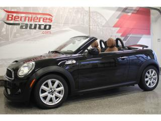 Used 2012 MINI Cooper S Roadster Convertible for sale in Lévis, QC