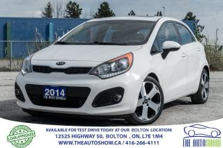 Used 2014 Kia Rio5 SX NAVI GPS REARCAM LEATHER SUNROOF SERVICE RECORD for sale in Bolton, ON