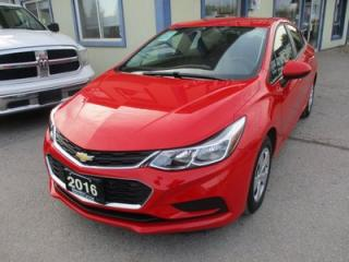 Used 2016 Chevrolet Cruze 'LIKE NEW' LS EDITION 1.4L - TURBO.. TOUCH SCREEN.. BLUETOOTH.. BACK-UP CAMERA.. AUX/USB INPUT.. for sale in Bradford, ON