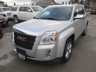Used 2015 GMC Terrain GREAT VALUE SLE EDITION 5 PASSENGER 2.4L - ECO-TEC.. HEATED SEATS.. BACK-UP CAMERA.. BLUETOOTH SYSTEM.. CD/AUX/USB INPUT.. for sale in Bradford, ON