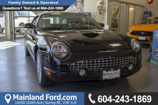 Used 2005 Ford Thunderbird Premium *ACCIDENT FREE* *LOCALLY DRIVEN* for sale in Surrey, BC