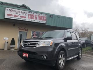 Used 2013 Honda Pilot Touring FULLY LOADED!!! CERTIFIED!! for sale in Bolton, ON