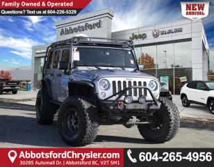 Used 2015 Jeep Wrangler Unlimited Rubicon *LOCALLY DRIVEN* for sale in Abbotsford, BC