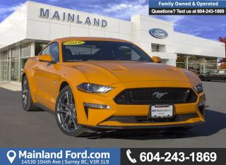 New 2018 Ford Mustang GT Premium Coupe 401A for sale in Surrey, BC
