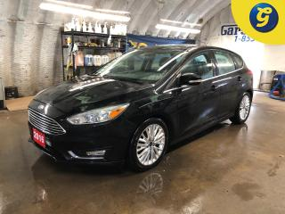 Used 2016 Ford Focus Titanium * Sunroof * Leather *  $56 Wkly $0 down! for sale in Cambridge, ON