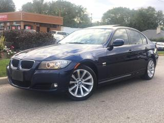 Used 2011 BMW 3 Series XDRIVE-NAVI-S.ROOF-HEATED-BLUETOOTH-BACK UP SENSOR for sale in Mississauga, ON