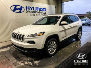 Used 2014 Jeep Cherokee LIMITED 4X4 + GARANTIE + WOW ! for sale in Drummondville, QC
