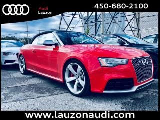 Used 2015 Audi RS 5 Cabriolet Sport for sale in Laval, QC